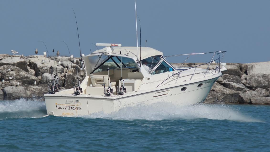 Image gallery leland mi fishing charter for Fishing charters michigan